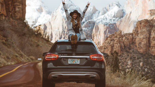 host renting out car going on a road trip