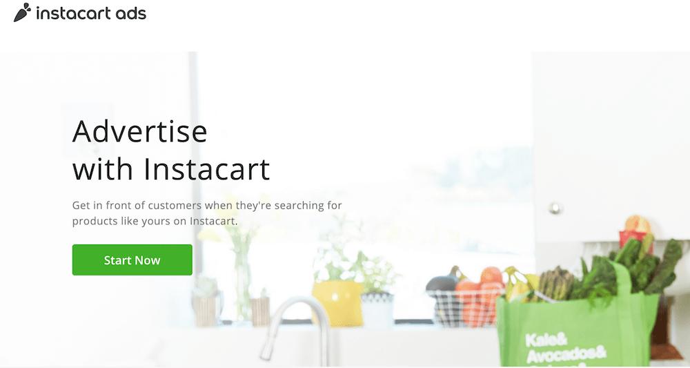 Instacart advertising   Instacart Business Model