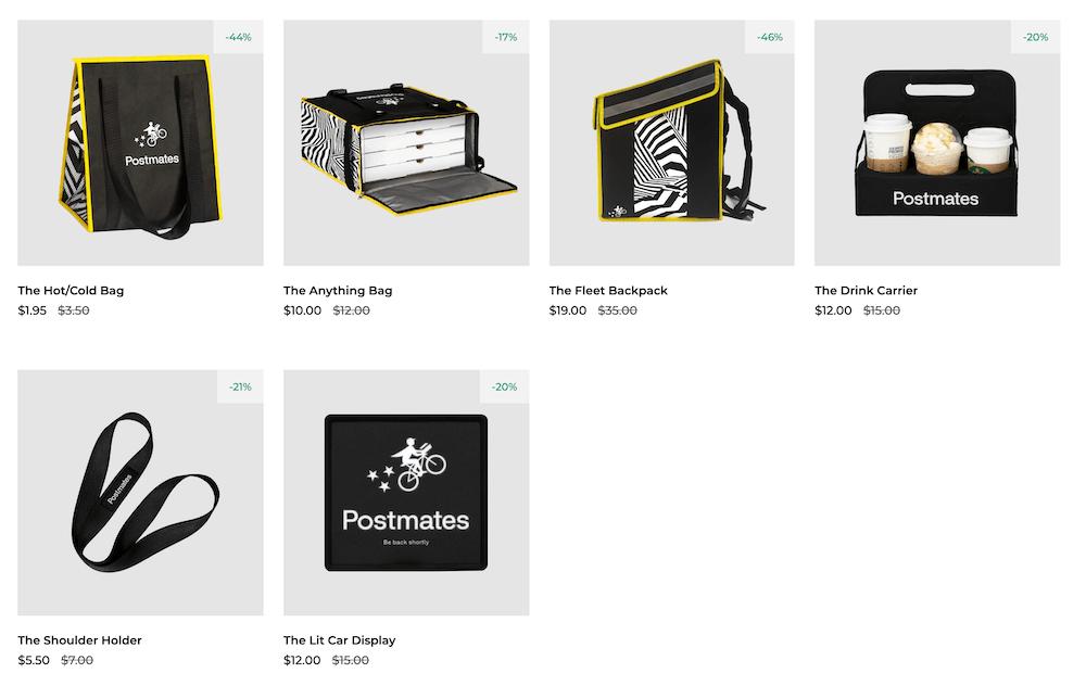 Postmates Store   Postmates Business Model