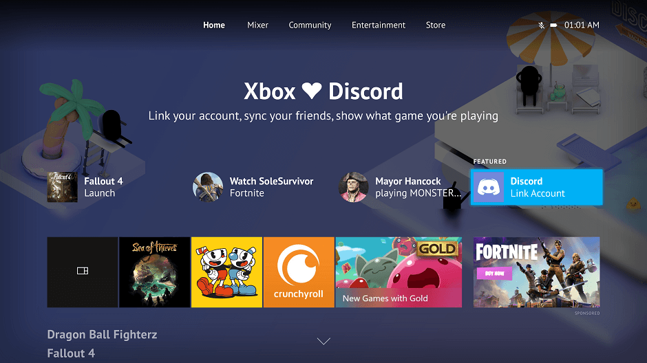 Microsoft and Discord Partnership Deal (Xbox Live)