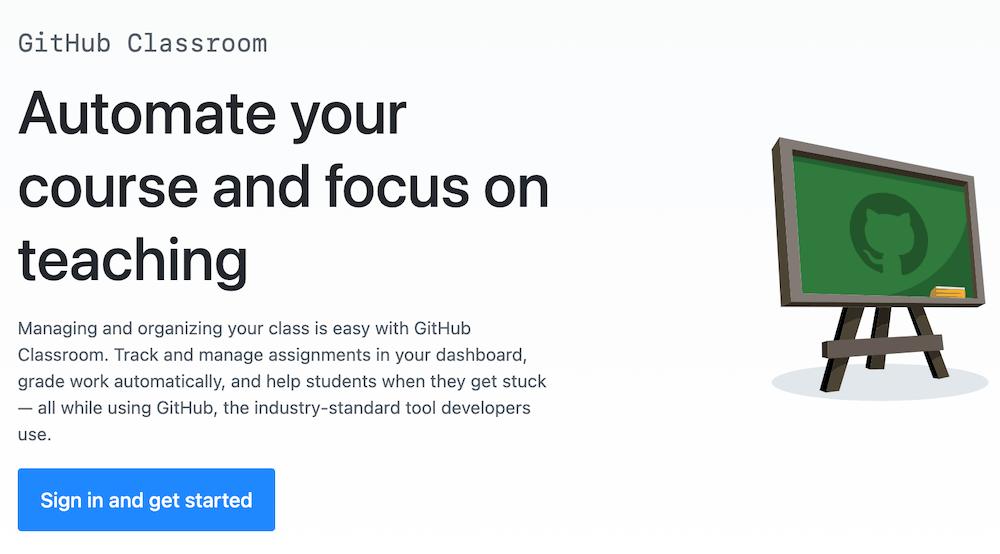 GitHub Classroom   GitHub Business Model