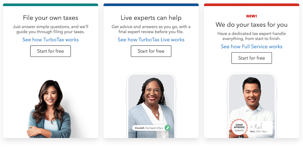 How Does TurboTax Make Money?   Fee for service(FFS) business model