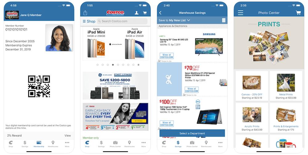 Costco App in Apple App Store   Costco Business Model   How Does Costco Make Money?