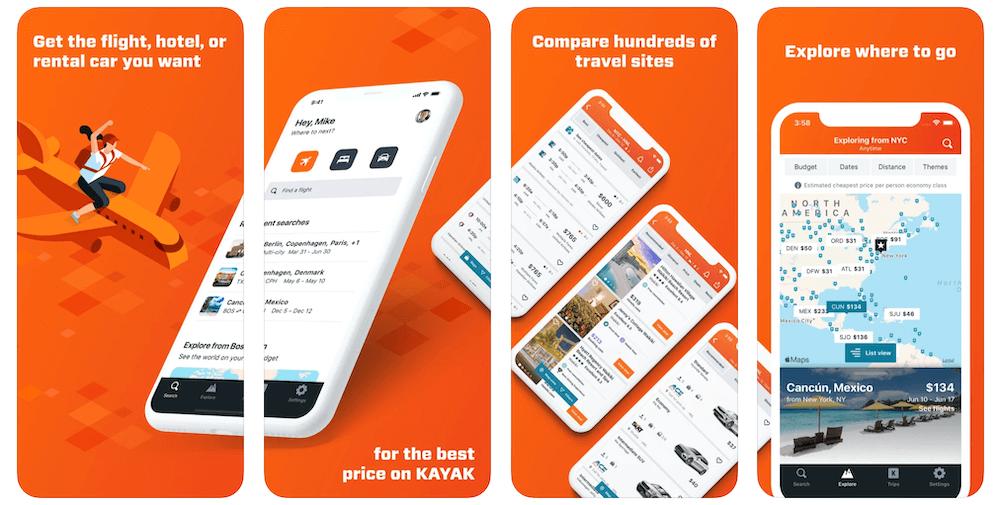 KAYAK App in Apple App Store | KAYAK Business Model | How Does KAYAK Make Money?