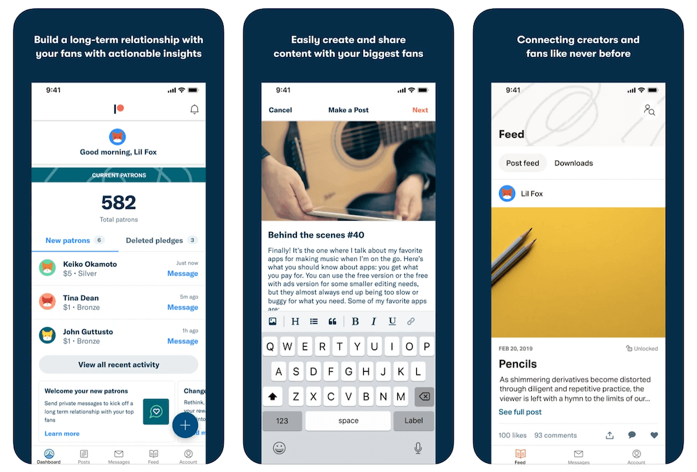 Patreon App in Apple App Store | Patreon Business Model | How Does Patreon Make Money?
