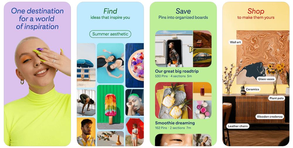 Pinterest App in Apple App Store   Pinterest Business Model   How Does Pinterest Make Money?