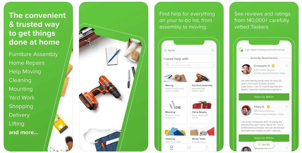 TaskRabbit App in Apple App Store | TaskRabbit Business Model | How Does TaskRabbit Make Money?