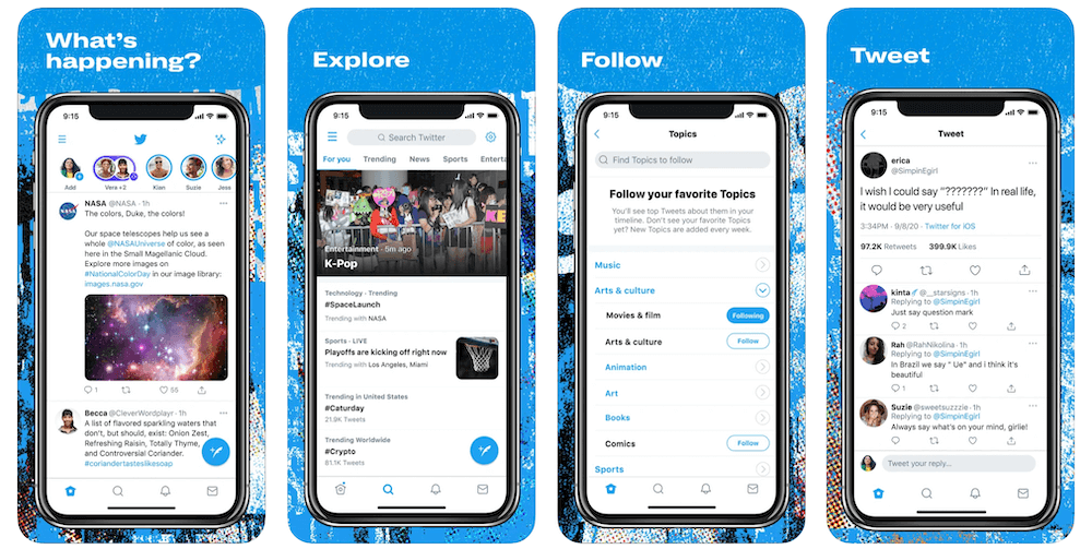 Twitter App in Apple App Store | Twitter Business Model | How Does Twitter Make Money?