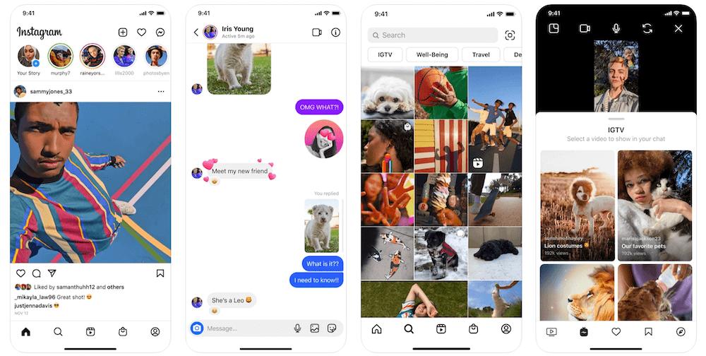 Instagram App in Apple App Store   Instagram Business Model   How Does Instagram Make Money?