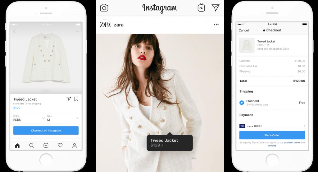 Instagram Shopping Checkout   Instagram Business Model   How Does Instagram Make Money?