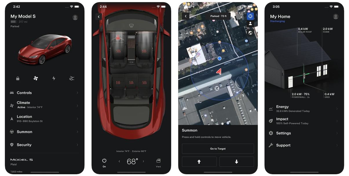 Tesla App in Apple App Store | Tesla Business Model | How Does Tesla Make Money?