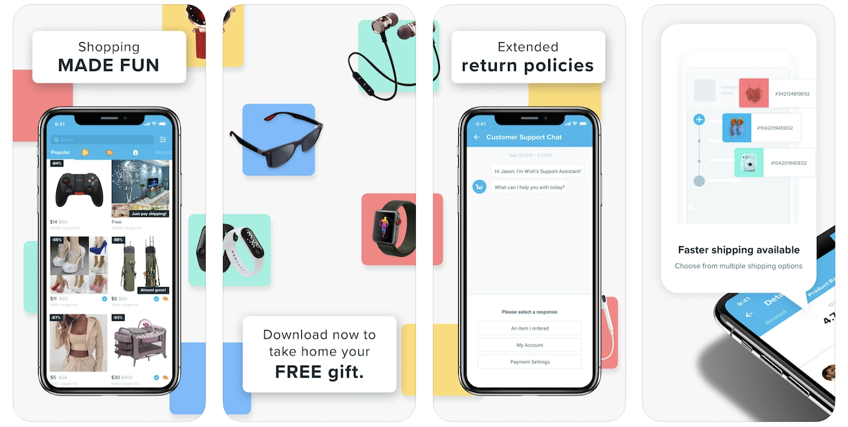 Wish App in Apple App Store | Wish Business Model | How Does Wish Make Money?