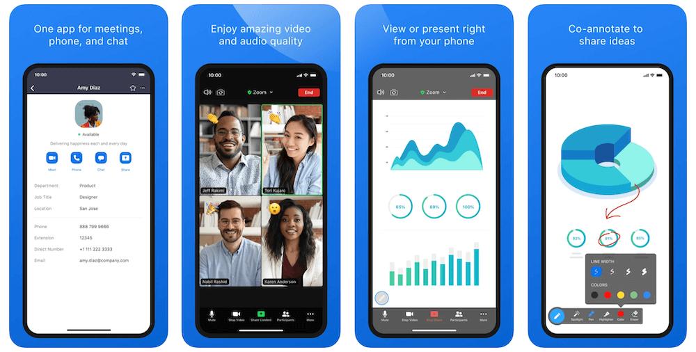 Zoom App in Apple App Store | Zoom Business Model | How Does Zoom Make Money?