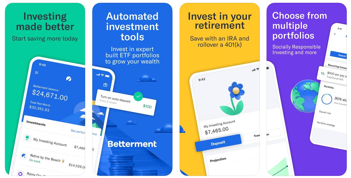 Betterment App in Apple App Store | Betterment Business Model | How Does Betterment Make Money?