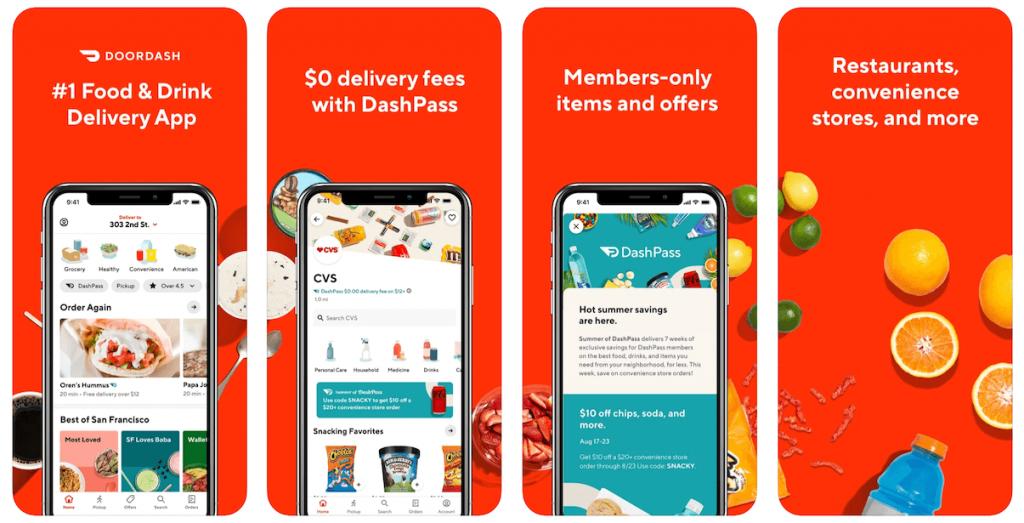 DoorDash App in Apple App Store | DoorDash Business Model | How Does DoorDash Make Money?