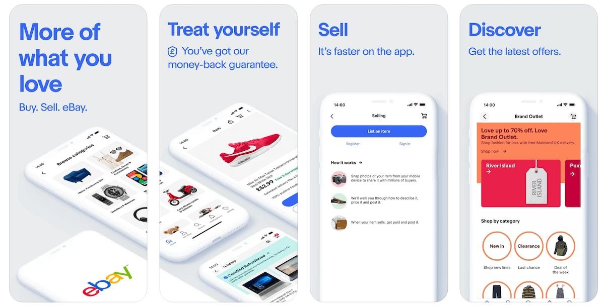 eBay App in Apple App Store | eBay Business Model | How Does eBay Make Money?