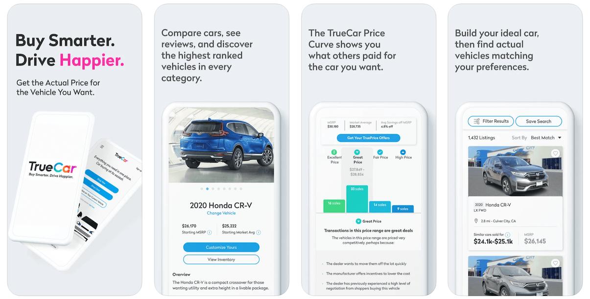 TrueCar App in Apple App Store   TrueCar Business Model   How Does TrueCar Make Money?